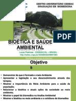 bioética e analise ambiental na biomedicina