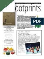 December 2012 Footprints