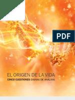 El origen de la vida. Cinco cuestiones de analisis..pdf