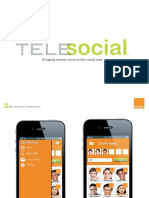 Telesocial / France Telecom presentation for PartyCall