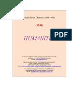 Alain - Humanites [1946]