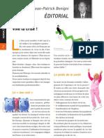 Éditorial des Cahiers de la Compression et de l'Orthopédie n°4