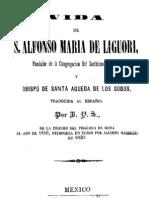 Vida de San Alfonso María de Ligorio