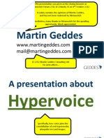 Hypervoice Keynote - ANNOTATED VERSION