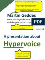 Hypervoice Keynote - ANNOTATED VERSION
