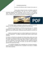 ARTICULO FILOSOFIA EDUCATIVA (JAZMÍN A.B.)