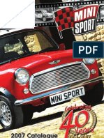 Mini Sport Catalogue 2007