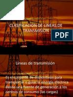 Clasificacion de Lineas de Transmision