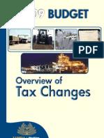 2009 Budget Highlights