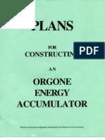 orgone energy accumulator plans