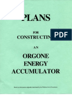 orgone energy accumulator plans