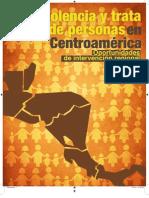 Estudio Regional Violencia y Trata 2012