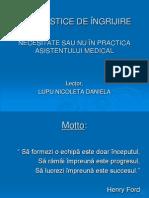 Diagnostice de Ingrijire - Necesitate Sau Nu in Practica Asistentului Medical