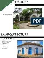 Diapositivas Arquitectura Colonial