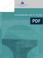 THE INTERNATIONAL ROLE OF THE EURO