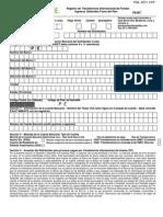 Registro de Transferencia Internacional de Fondos