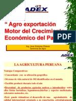 Agroexportacion Motor Del Crecimiento Economico