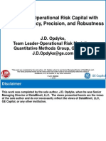 J.D. Opdyke - Estimating Operational Risk Capital with Greater Accuracy, Precision, and Robustness with UCE - 01-01-12