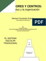 Profesores y centros - El individuo y la organización