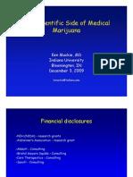 The Scientific Side of Medical Marijuana