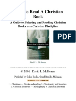 How to Read a Christian Book