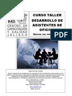 01 - Cursto Taller de Desarrollo de Asistentes de Oficina
