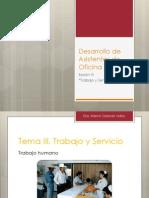 06 Trabajo y Servicio