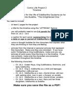 Siddhartha Gautama Project Instructions Copy 1
