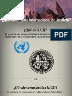 ¿Qué es la Corte Internacional de Justicia?