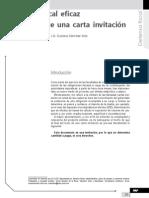 Defensa fiscal eficaz en contra de una carta invitación