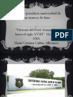 Grupo 8 - La Real y Pontificia Universidad de San Marcos