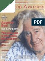 Augusto Boal em entrevista à revista Caros Amigos