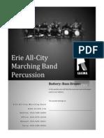 technique packet-bass drum 2012