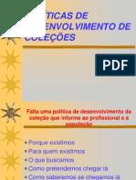 DESENVOLVIMENTO DE COLEÇÕES P.