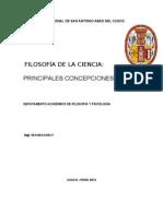 Epistemologia de Las Ccss