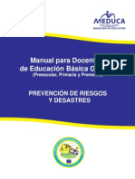 Manual Prevencion Riesgo y Desastre