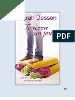 Sarah Dessen - Te Revoir Un Jour