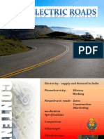 Piezoelectric roads