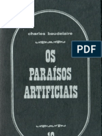 Charles Baudelaire - Os Paraísos Artificiais (Editorial Estampa, 1995)