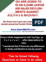 Shirk Similarities between Hindu & Muslims-Reply to Follish Wahabi Cult