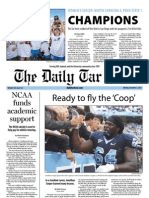 The Daily Tar Heel for December 3, 2012