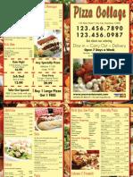 Restaurant Flyer Printing Sample