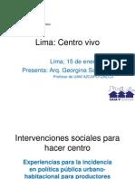 Lima Centro Vivo GS 01