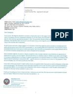 Incentive Plan Letter