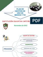 Plan de Gestion de Uso de Tic