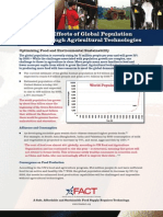 AFACT Fact Sheet Mitigating Effects of Global Population Growth through Agricultural Technologies