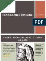 Renaissance Timeline