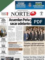 Periodico Norte de Ciudad Juárez 3 de Diciembre de 2012