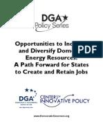 DGA Energy White Paper