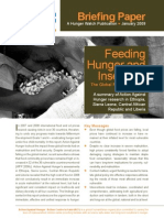 Feeding Hunger & Insecurity